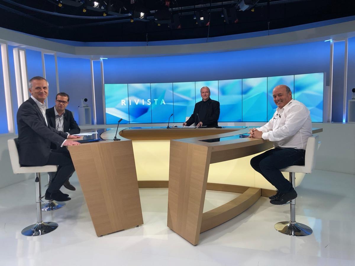 Léo Battesti invité de l'émission politique Rivista : un discours sans fard.